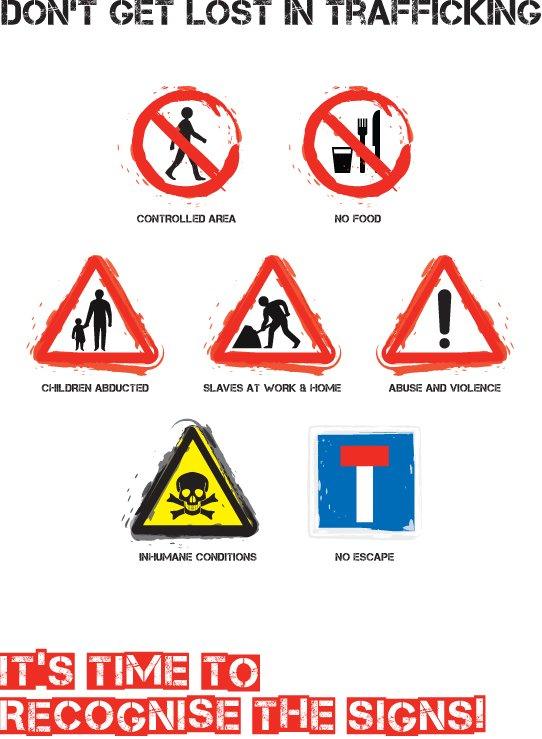 Lire les signes - traite des êtres humains - Jeu interactif Échec au crime