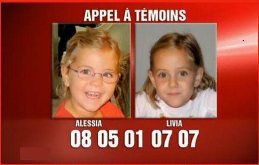 Livia et Alessia: l'affaire n'est pas classée