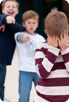 L'intimidation chez les 4 à 11 ans