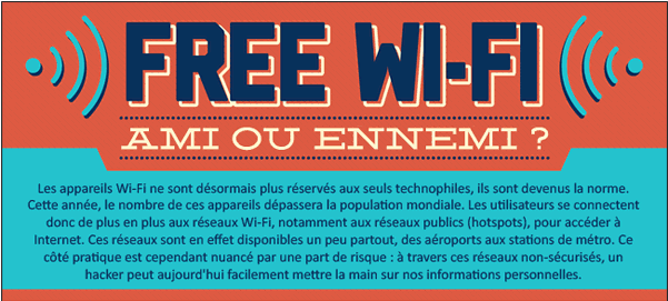 Que risque-t-on à se connecter au wifi public ?