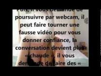 CHANTAGE À LA WEBCAM que faire ???