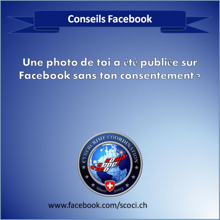 Une photo de toi a été postée sur Facebook sans ton consentement. Que faire ?