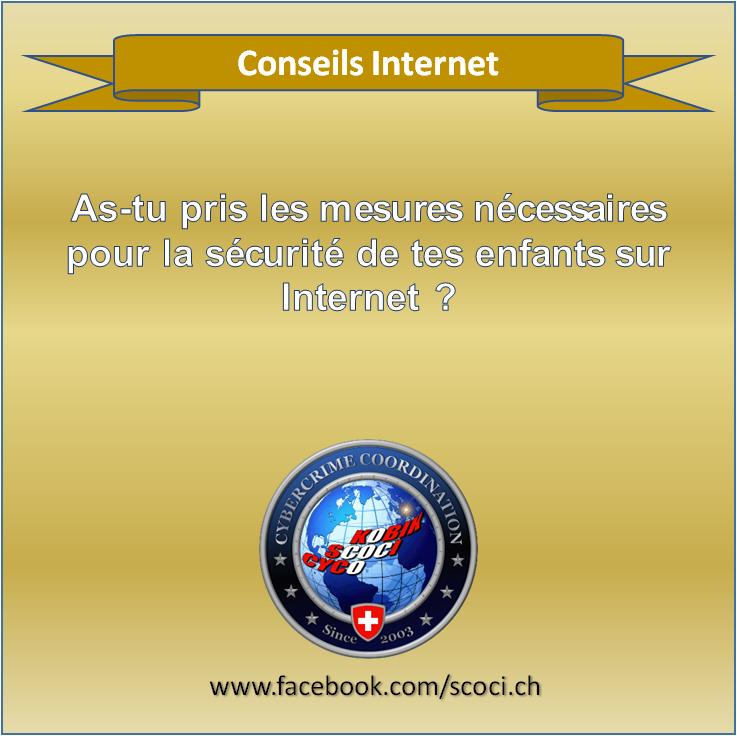 Sécurité des enfants sur internet ?