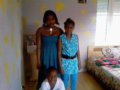 moi et ma soeur  et ma cousine