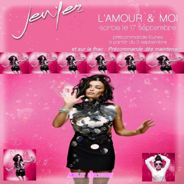 new album Jen : L'amour & moi