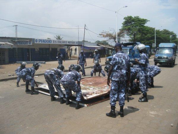 CELEBRATION DU 05 OCTOBRE 2012 SUR FOND DE REPRESSION SAUVAGE DES FORCES RETROGRADES DE FAURE GNASSINGBE.