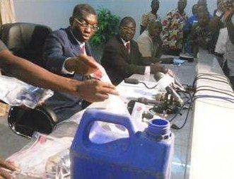 LE SIEGE DE L'ANC A ETE PERQUISITIONNE CE SAMEDI PAR LES ELEMENTS DE LA SRI DU CAPITAINE AKAPKO.