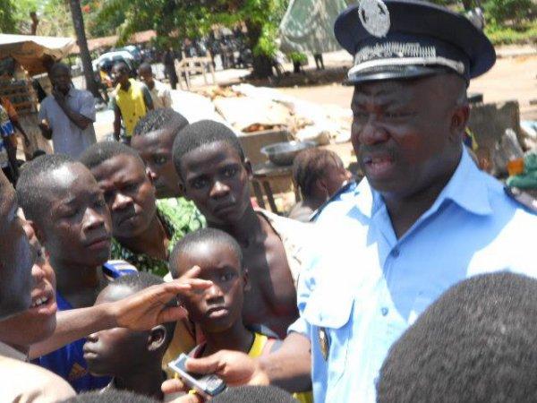 Les élèves des écoles publiques étaient dans les rues de Lomé dans la foulé d'une greve de 72 heures lancée par la synergie des travaileurs du Togo STT.
