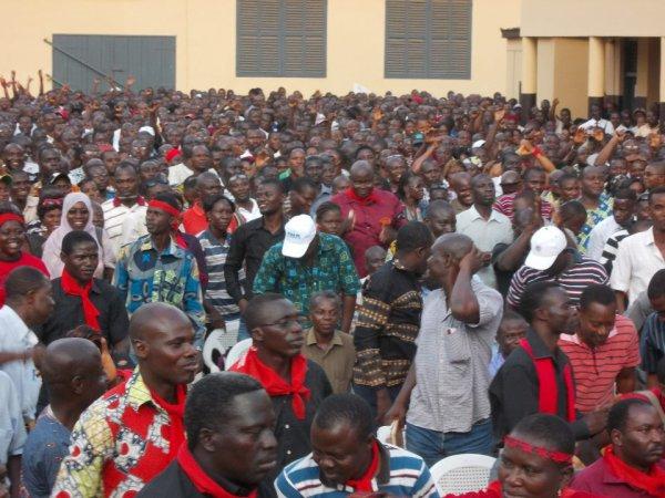 Voici les recommandation de l'A G du 18 Avril 2013 de la Synergie, tenue au centre communautaire de Tokoin à Lomé: