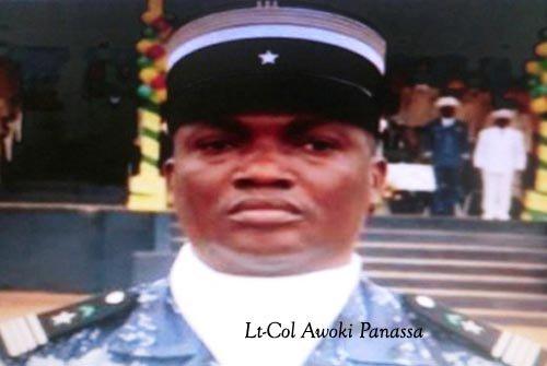 Le Lieutenant-Colonel Awoki Panassa succède au Lieutenant-colonel Kossi Akpovy