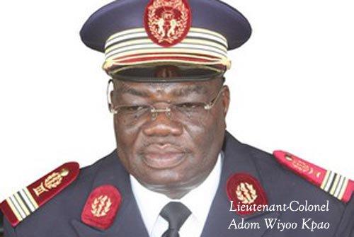 VOICI LE NOUVEAU DIRECTEUR DU CHU S. OLYMPIO. Le Lieutenant-Colonel Adom Wiyoo Kpao prend les rènes de l'hopital mouroir du pays.