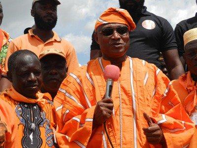 Jean-Pierre Fabre remobilise les populations de Tchamba, Tchaoudjo et Sotouboua