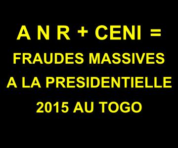 Togo un Etat policier et militarisé. L' Agence Nationele des Renseignements, ANR partout, meme à la CENI.