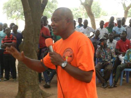 Présidentielle 2015, Région des Savanes : Jean-Pierre Fabre aux populations « Arrêtez de voter ethnique ! »