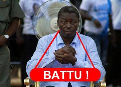 FAURE EGBOZIMNA GNASSINGBE A  BEL ET BIEN PERDU LES ELECTIONS DU 25 AVRIL.