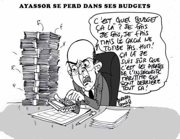 Lui, c'est Adji Otèth Ayassor, une véritable calamité pour les Finances du Togo.