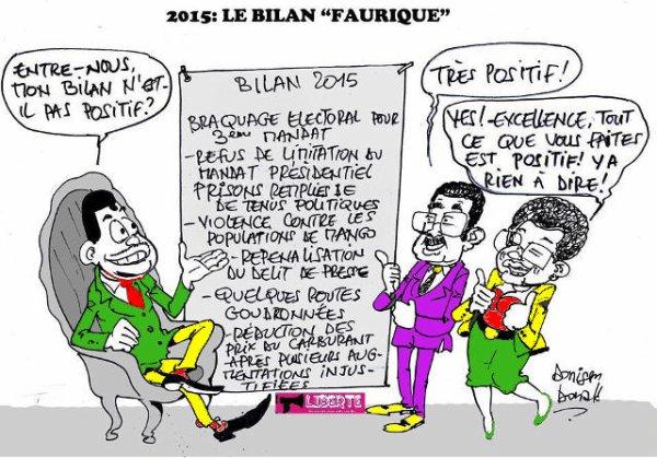 Bilan de la « gouvernance » de Faure Gnassingbé en 2015 : Braquage électoral et 3e mandat. Massacre des populations de Mango, etc…