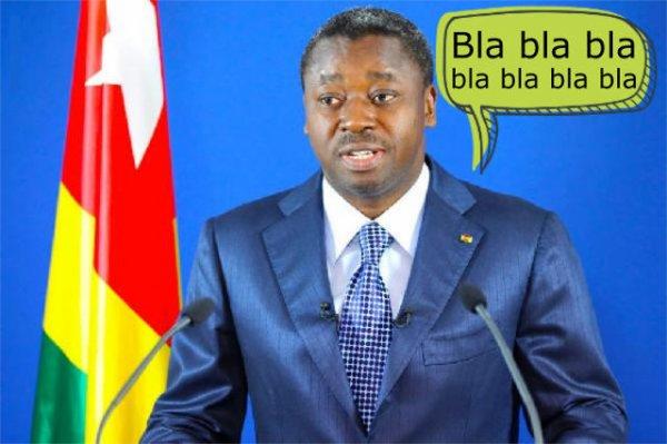 Les blablateries de Faure Gnassingbé