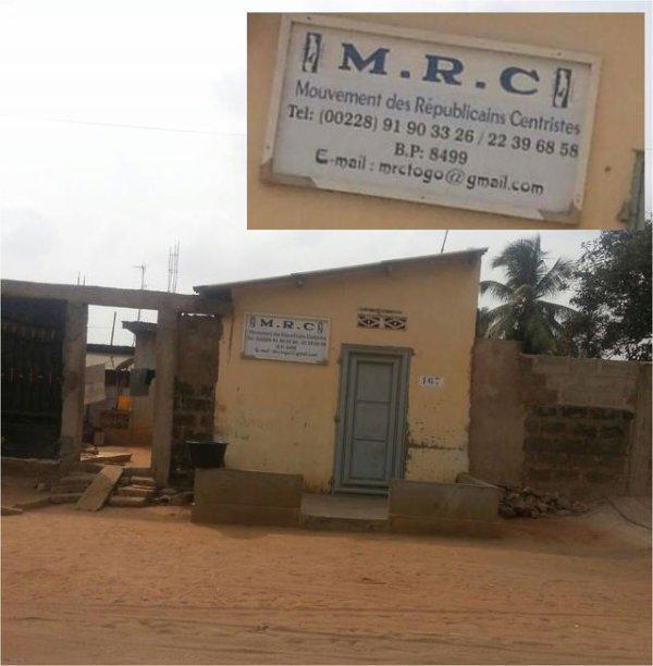 Spotlight sur le siège social du MRC de « notre » Abass Kabou…« International »
