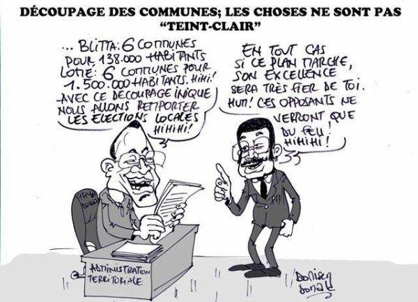 Décentralisation et Élections locales au Togo : La feuille de route et la répartition posent problèmes…