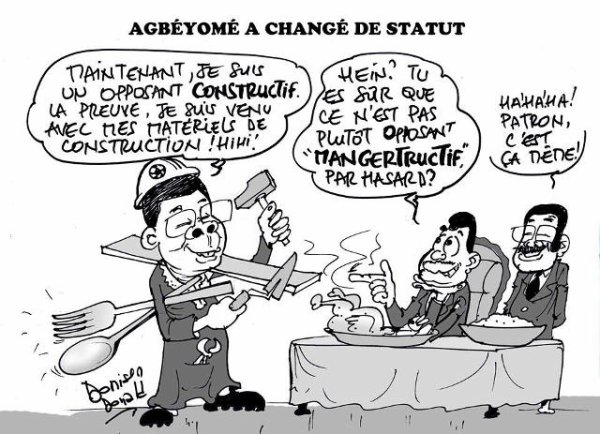 Opposition constructive ou bien opposition nutritive ?