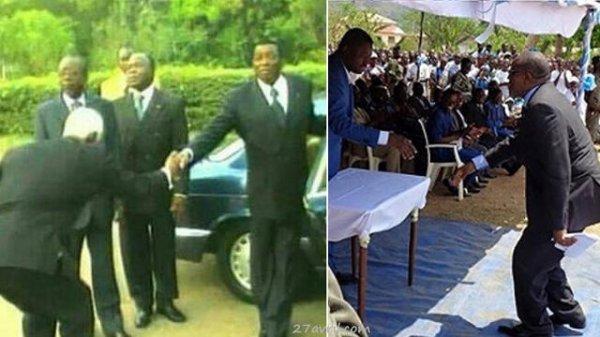 « Togolaiseries » : Pour occuper des hautes fonctions au Togo, Pas besoin de compétences. Juste savoir se courber comme Dama Dramani, le boy devenu président de l'Assemblée nationale,…ou comme Francis Ekon !