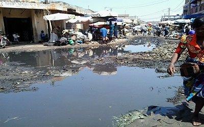Lome Atikpodji, au coeur de la capitale du pays gnassingbelande, pauvre Togo