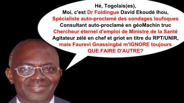 Devoir de mémoire : Voici ce que Dr David Ihou disait sur Faure Gnassingbé en 2005…avant de devenir son griot attitré aujourd'hui.