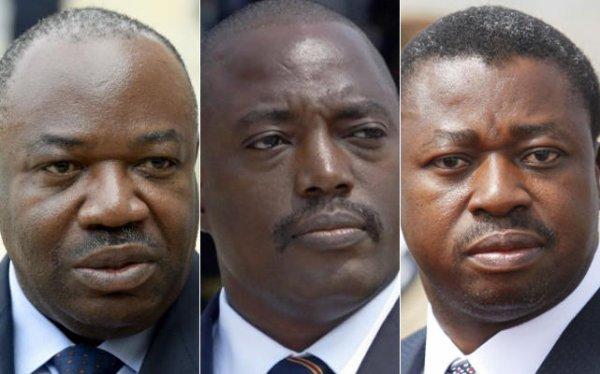 Gabon – R.D.C. – Togo : L'Afrique des fils à Papa, la face hideuse d'un continent. Ces longs règnes qui accouchent de la Mafia