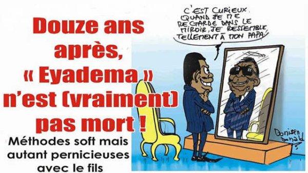 Faure Gnassingbé, le président du Togo, Ce mélange d'Éyadema, de Mobutu, de Bokassa, né, hélas, Trop Tard !