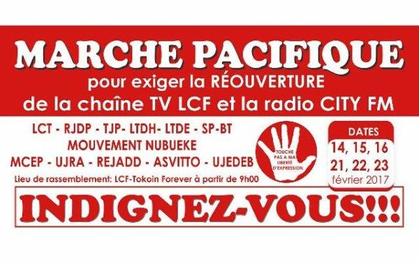 Fermeture LCF et City FM : La société civile appelle les Togolais à s'indigner