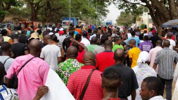 Togo Déclaration liminaire de la société civile