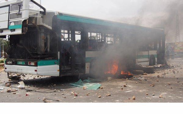 Togo vidéo/Échauffourées au carrefour GTA suite à la hausse des prix des produits pétroliers