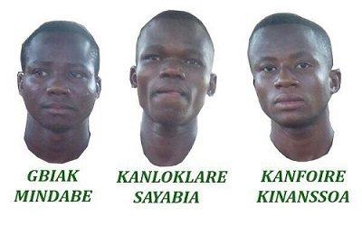 Des lycéens arretés par la police politique du dictateur Faure Gnassingbé du Togo.Les enseignants exigent la libération des trois élèves ce vendredi