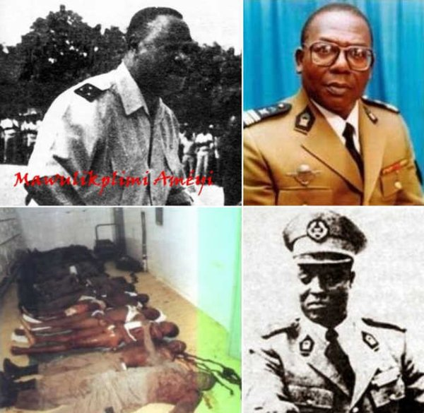 Togo, On se souvient : Le 25 mars 1993, Etienne Eyadema ordonna une sauvage purge ethnique de l'armée au Camp RIT à Lomé…Vingt-quatre ans après cette barbarie, les auteurs sont toujours protégés par le régime du fils, Faure Gnassingbé. Réconciliation, dites-vous ?