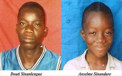 """Anselme Sinandare et Douti Sinalengue """"4 ans déjà"""" L'assassin est toujours en liberté, proteger par le dictateur Faure E. Gnassingbé"""