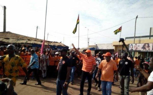 L'ANC remobilise les populations dans les Kloto et Kpélé
