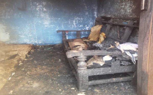 Foly Satchivi  président de la Ligue Togolaise des Droits des Étudiants (LTDE)  victime d'un incendie criminel du régime sanguinnaire de Gnassingbé ll