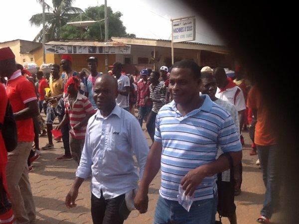 Togolais et togolaises, nous devons sortir pour faire notre devoir de nous libérer. Il n'y a pas de libération sans sacrifice!!!