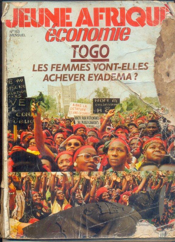 Appel à toutes les femmes du Togo. Sortez massivement pour défaire une fois de bon la vielle dictature sanguinaire des Gnassingbé