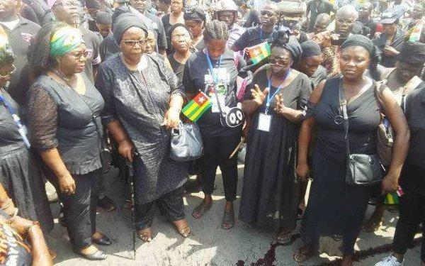« Faure, Dégage ! », c'est le message des Femmes Togolaises à Faure Gnassingbé ce 20 janvier 2018