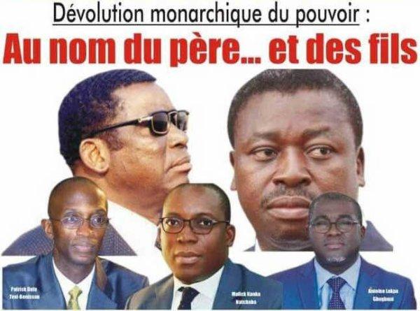 Dévolution monarchique du pouvoir : Au nom du père… et des fils