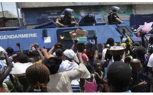 Kara : Prison et gendarmerie pour les syndicalistes grévistes. Chuan pauvre Togo