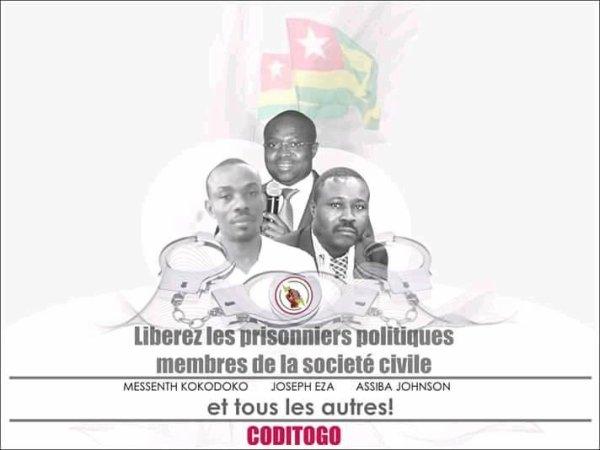 Des prisonniers otages aux humeurs de Faure Gnassingbé