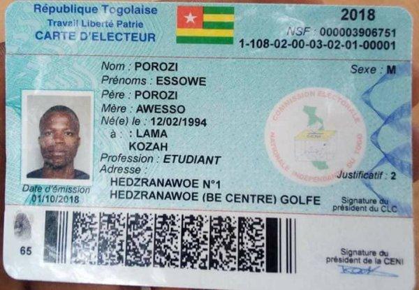 Maudit soit ceux qui se laissent acheter et manipuler pour saboter la marche du peuple togolais vers la conquête de la liberté !!