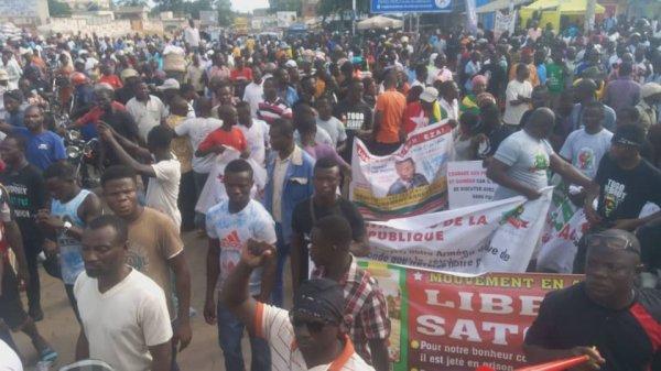 Le FCTD ( Front Citoyens Togo Debout ) a réussi son pari.