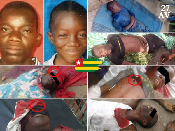 Le dictateur togolais, Faure Gnassingbé continue d'Assassiner le Enfants au Togo! Ou etes vous! communauté dite international!!!
