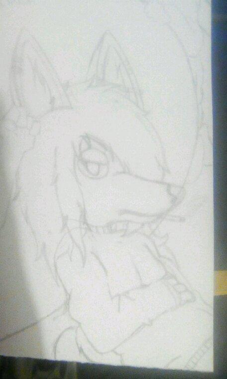 Chibi Aiko la louve délinquante.