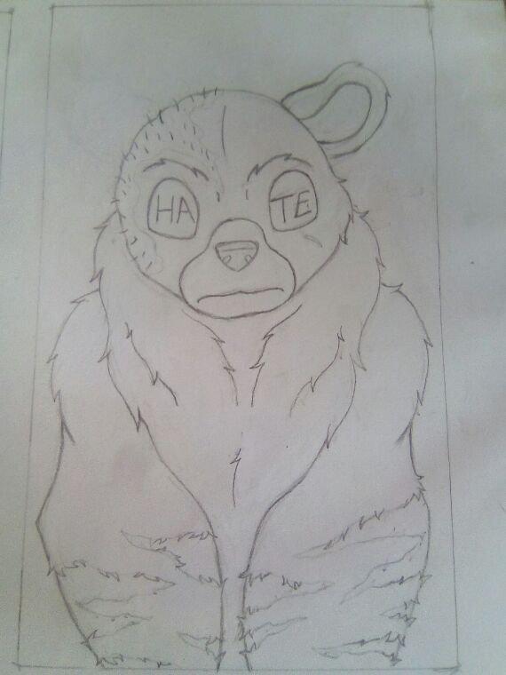 Le grizzli et la colère.