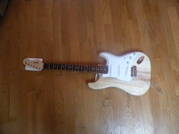 ma nouvelle guitare nordique